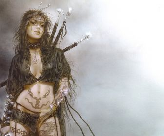 Luis royo paintet amazon princess warrior woman desktop 1920x1200 free-wallpaper-40897
