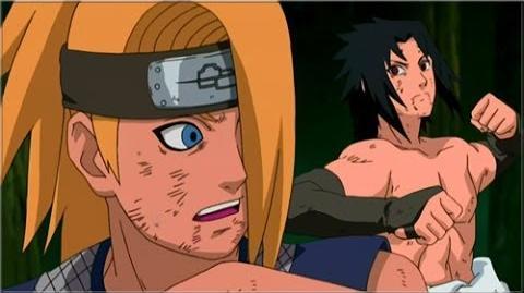 Sasuke vs. Deidara - Full Fight (English Dub) HD