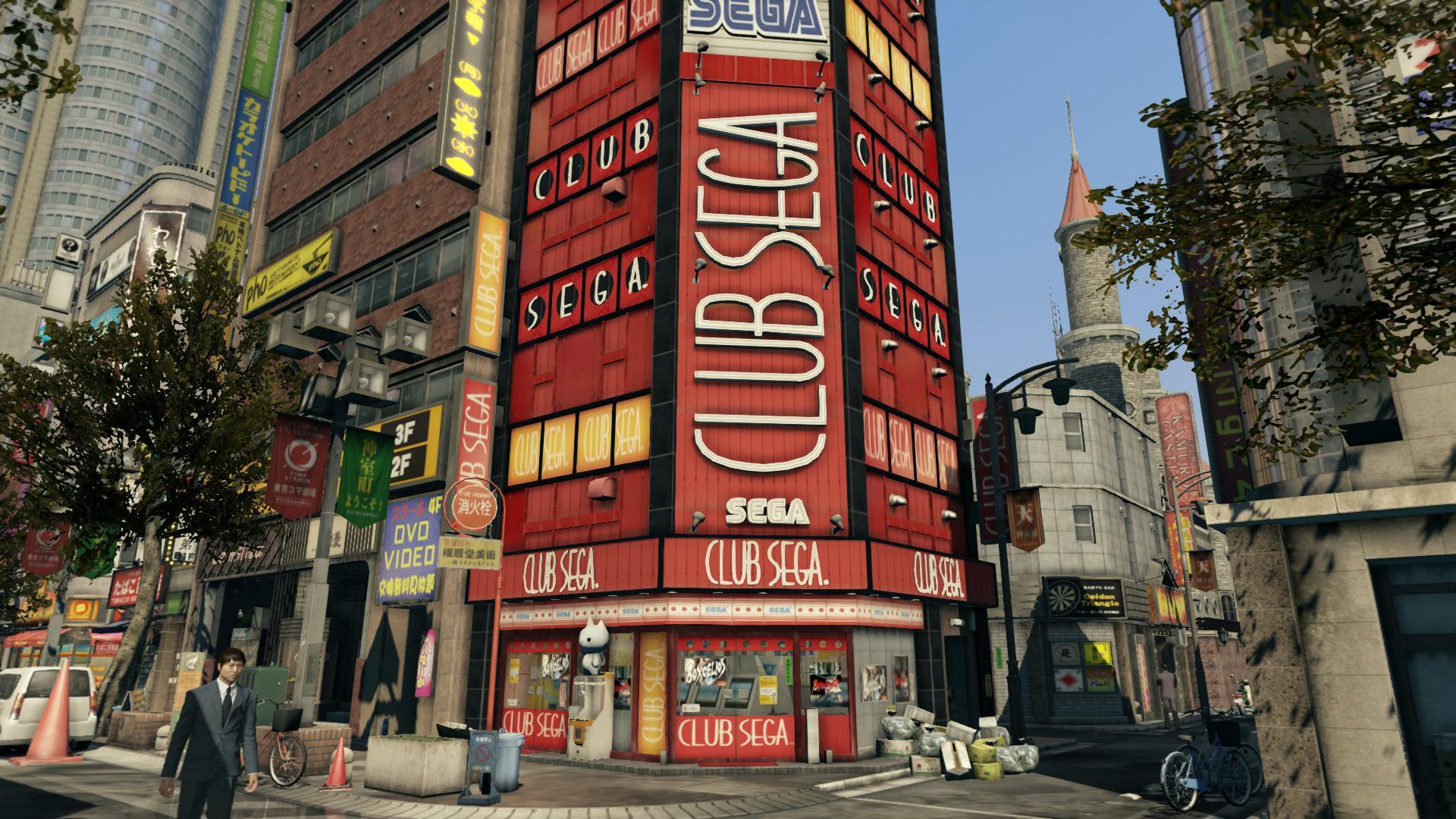 Club SEGA | Yakuza Wiki | FANDOM powered by Wikia