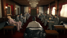 Tojo Clan meeting