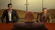 Shimano welcomes Majima and Sagawa for his inivation
