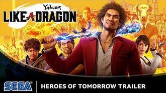 Yakuza Like a Dragon Heroes of Tomorrow