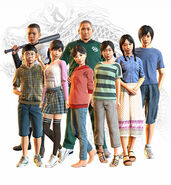 Morning Glory Orphanage Kids (Yakuza 6)
