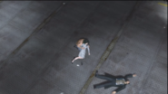 Saejima yells over Yasuko's death into his arm