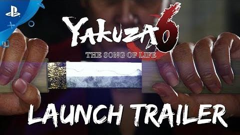 Yakuza 6 The Song of Life - Launch Trailer PS4