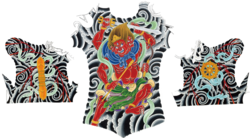 Masaru Watase asura king tattoo