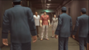 Hamazaki,Kiryu and Yasuko were caught Saito's guards men