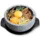 Stone-cooked Bibimpap