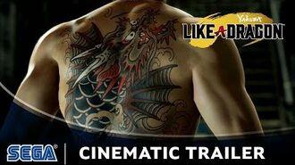 Yakuza Like a Dragon Cinematic Trailer