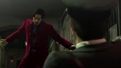 Nishitani readys to kill the back stabbing cop before his last breath