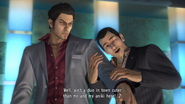 Rikiya and Kiryu fake date