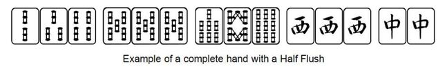 Mahjong-honitsu