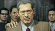 Sagawa is being caught by Omi men