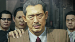 Sagawa is being caught by Omi men