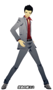 P5D Ren Amamiya Dragon of Dojima costume