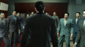 Majima, as a special delivery, stand taking revenge for Makoto on all Dojima men down alone