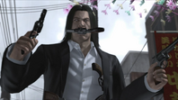 Saejima arms himself