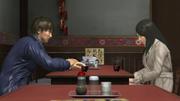 Yasuko and Tanimura at Homeland