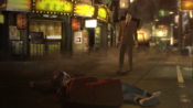 Majima's betrayal set Sagawa blew the bomb to Lee then appears front of Majima ad Makoto before Sagawa ready to kill them together