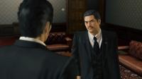 Fuma reliefs meeting Kiryu at his office