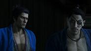 Okita and Ryoma being sneaky