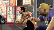 Rikiya and Mikio eating popsicles