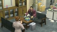 Akiyama and Hana reunite