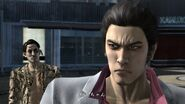 Majima suggest Kiryu he might become a zombie