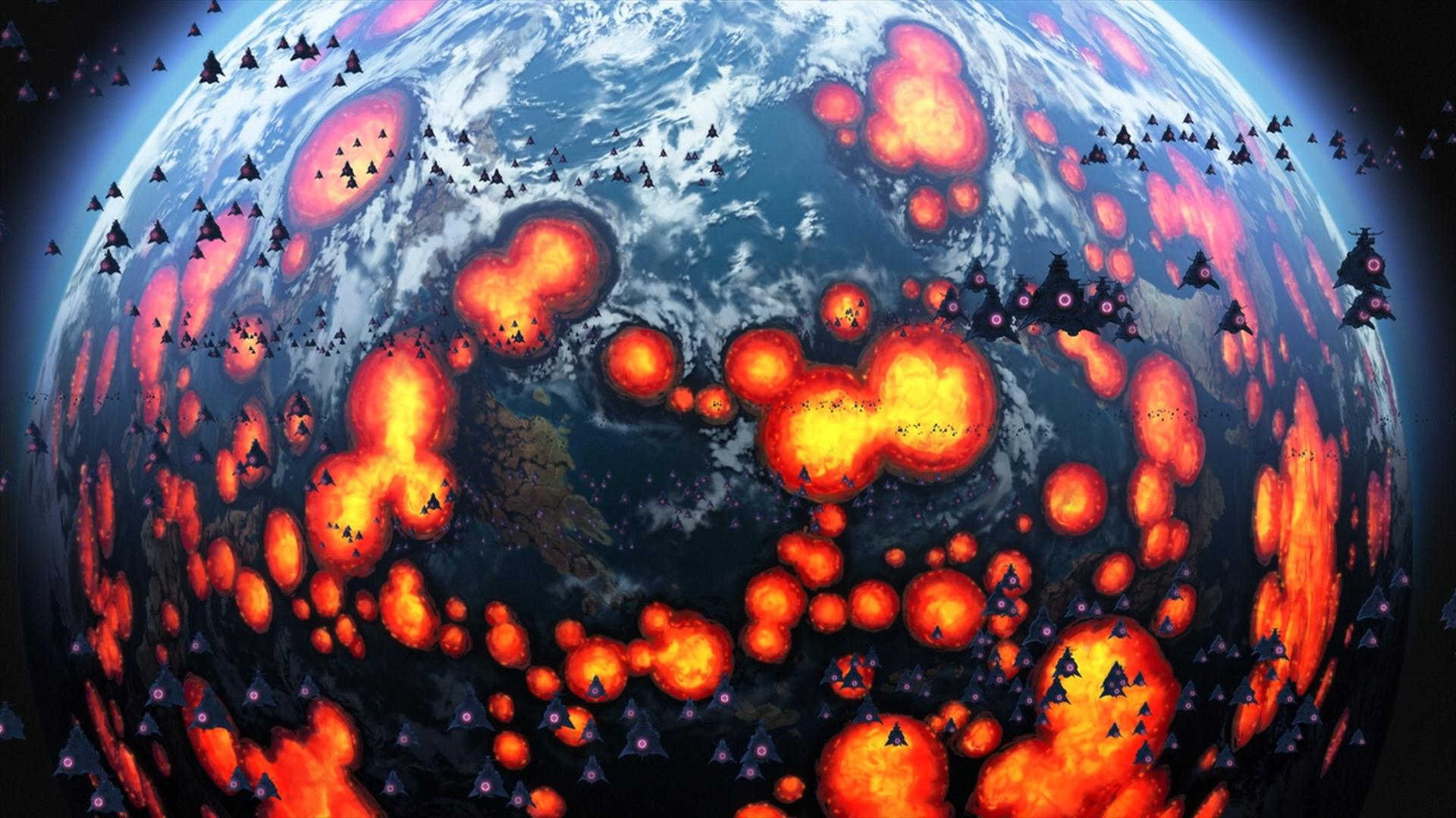 Bombing Of Alteria Space Battleship Yamato Wiki Fandom