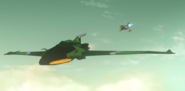Cosmo Zero pursues Garmillas recon plane