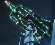 Andromeda 2202 Okita statue
