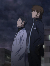 Sanada and Kodai Watch the Sky