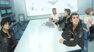 Yamato 2199 pilot's room