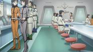 Yamato 2199 mess hall OMCS
