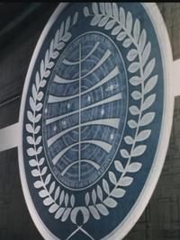 Earth Federation Seal Blue Noah