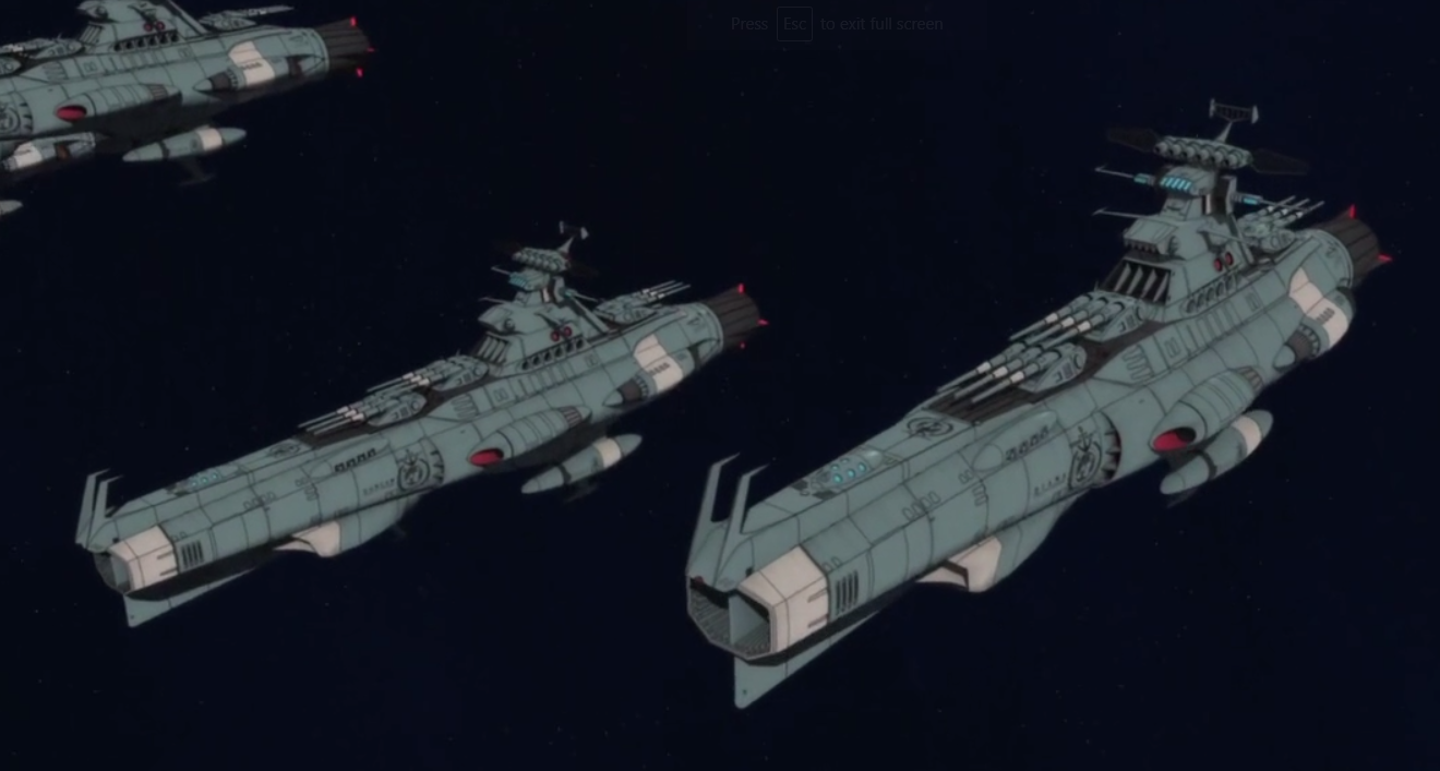 Space Battleship Yamato 1//1000 Space Battleship Yamato Plastic M... FROM JAPAN