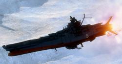 Yamato Over Aquarius Ice