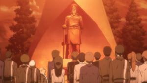 Okita statue crew commemoration