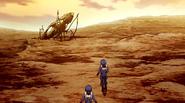 Sasha Iscandar escape pod Mars 2199