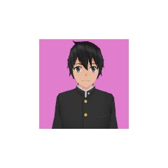Taro's first portrait.