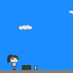 Ayano in an Preview of the 1.0 Version with <a href=