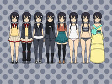 Kotone outfits