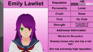 Emily Student info