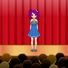Kokona Cosplaying as Daiyousei from Touhou Project, by Igor the Mii