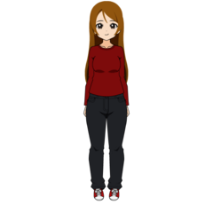 Casual outfit in Kisekae (outdated)
