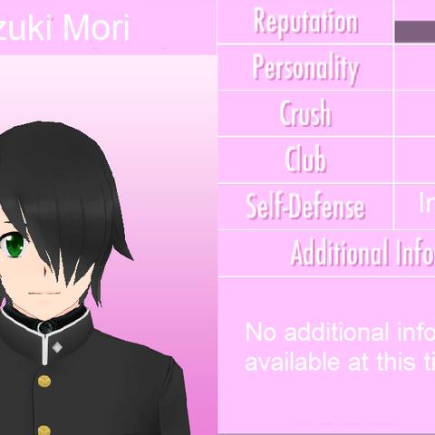 Kazuki's student profile.