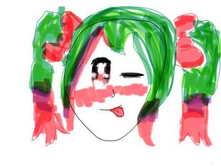 Doodle Kyoko lol