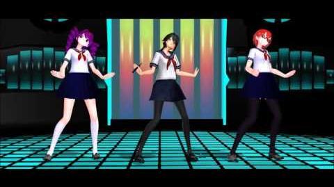MMD. ECHO. 2.0 . Yandere-chan, Info-chan, Kokona Haruka.