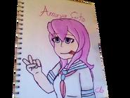 Amaya Saito Drawing Kamiko