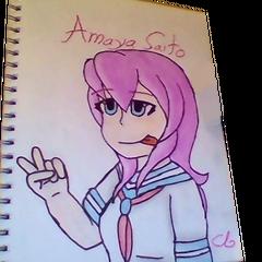 A drawing of Amaya by <a href=
